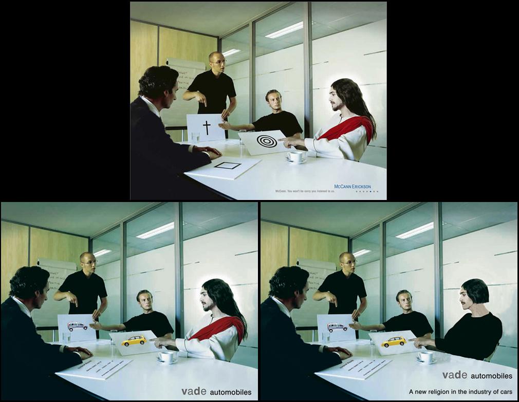 verbal-pictorial experimental advertising stimuli